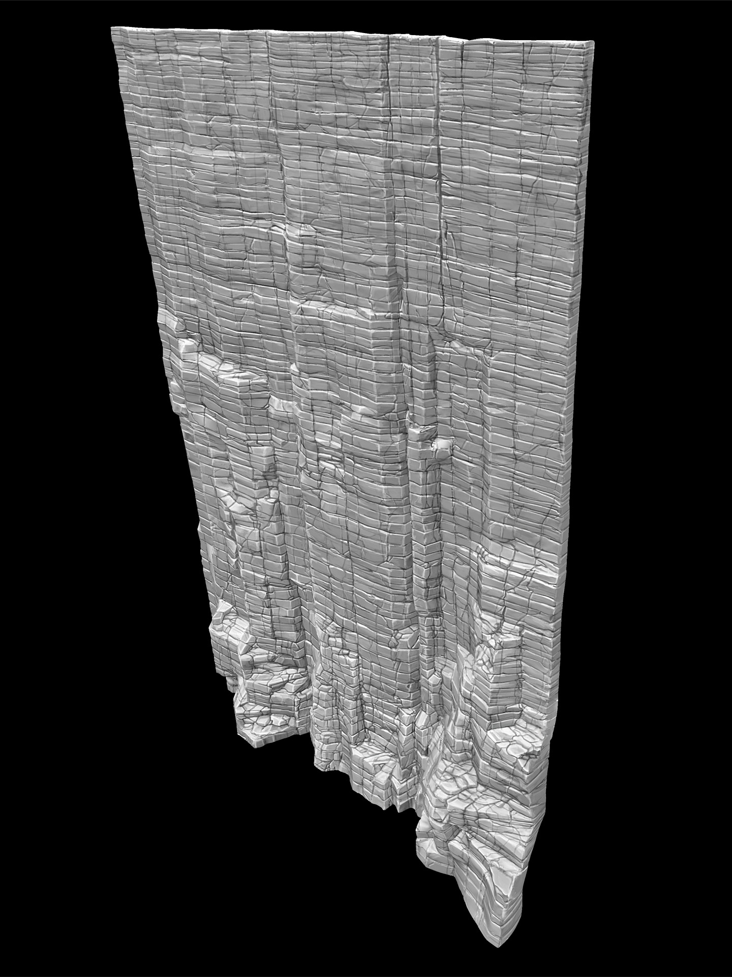 Week 75 – Cliff Textures in ZBrush | Le Gouffre